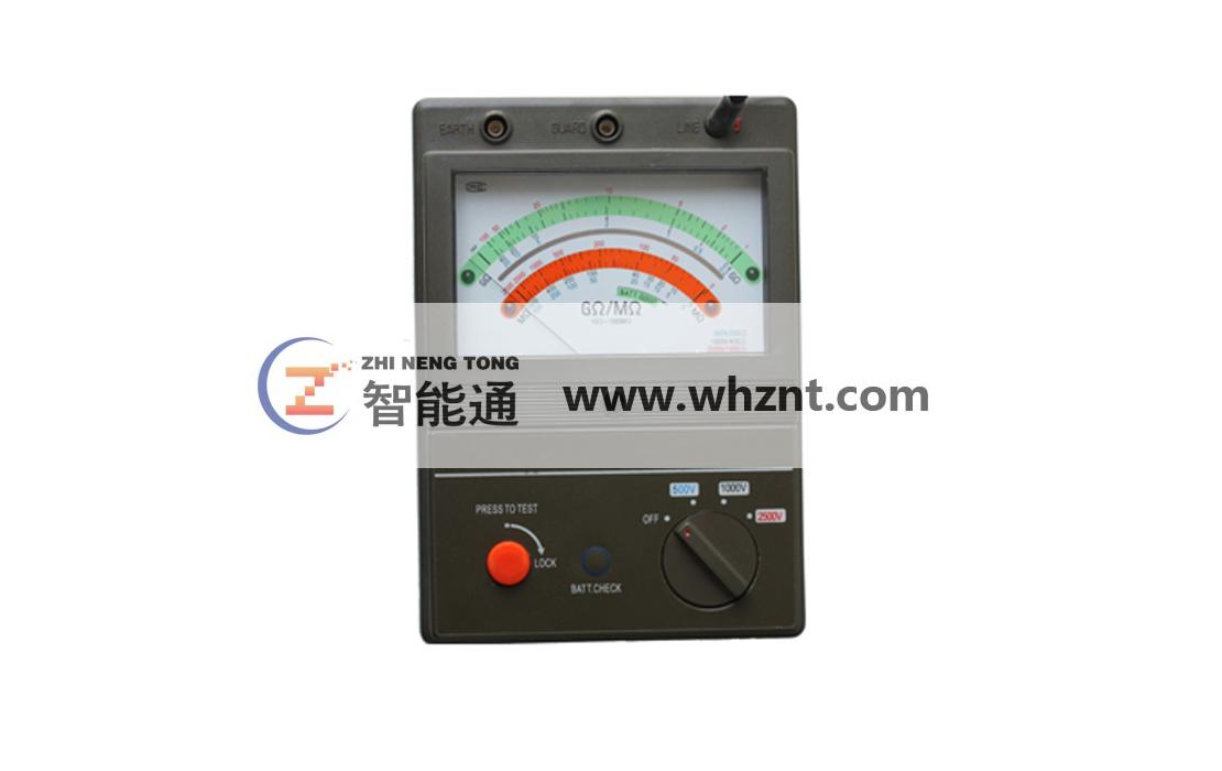 ZNT 2520 指针式绝缘电阻测试仪